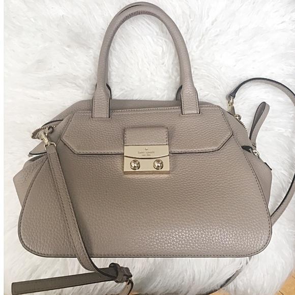 kate spade Handbags - Kate Spade Taupe Tote Bag